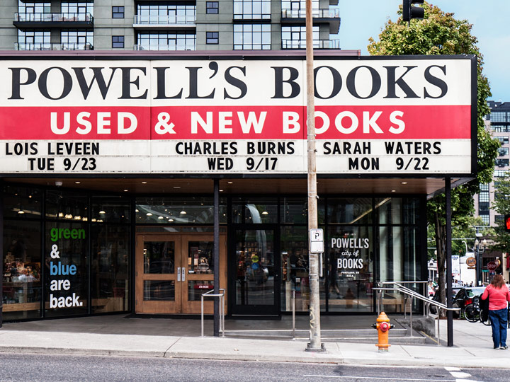 street view of Powell's book store
