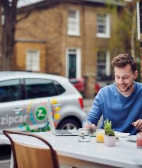 attending business meeting with Zipcar