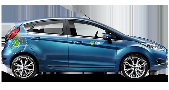 Zipcar ford fiesta