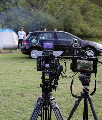 zipcar on a camera shoot