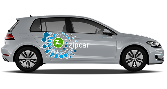 Zipcar vw e-golf