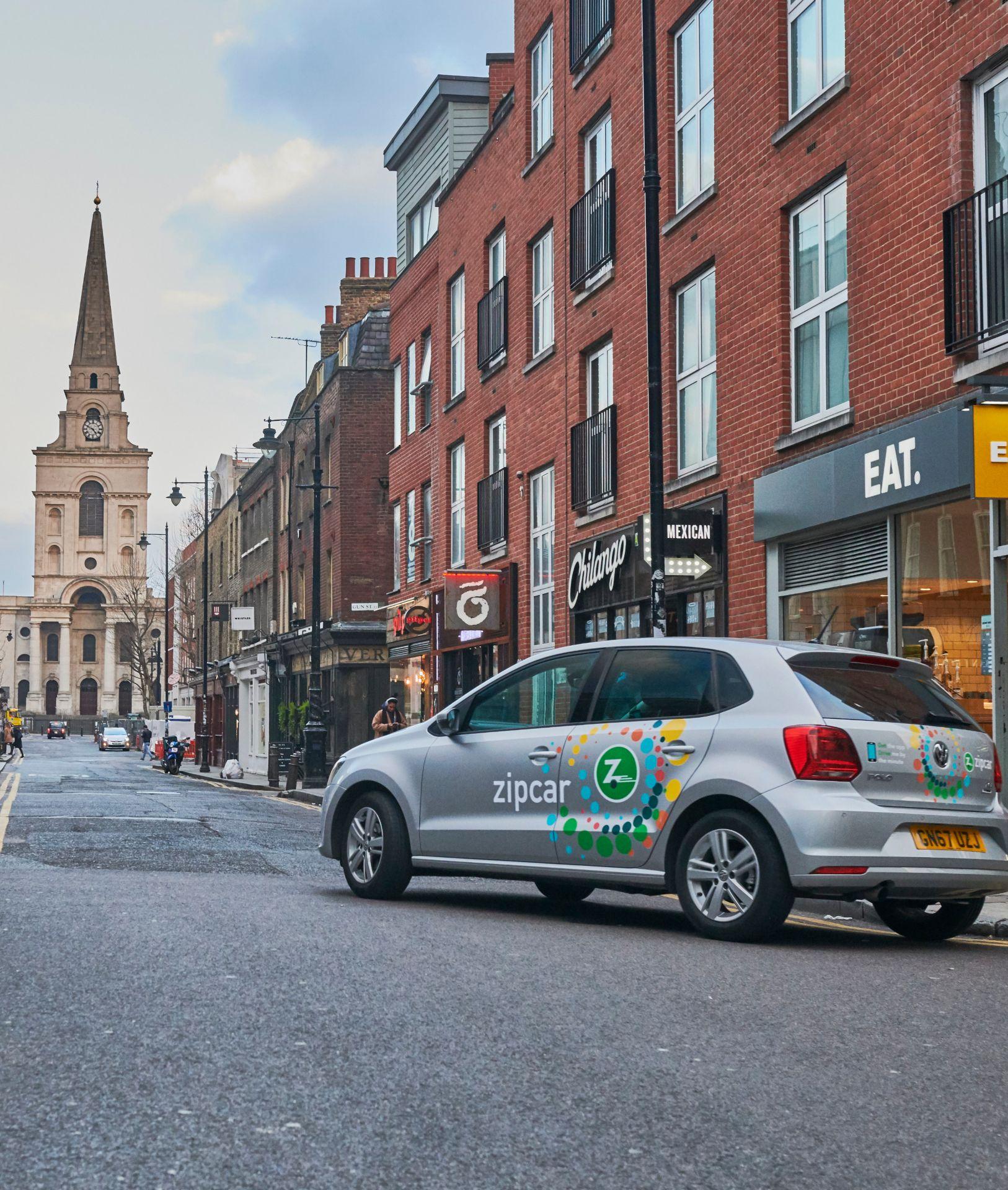 zipcar by spitalfields