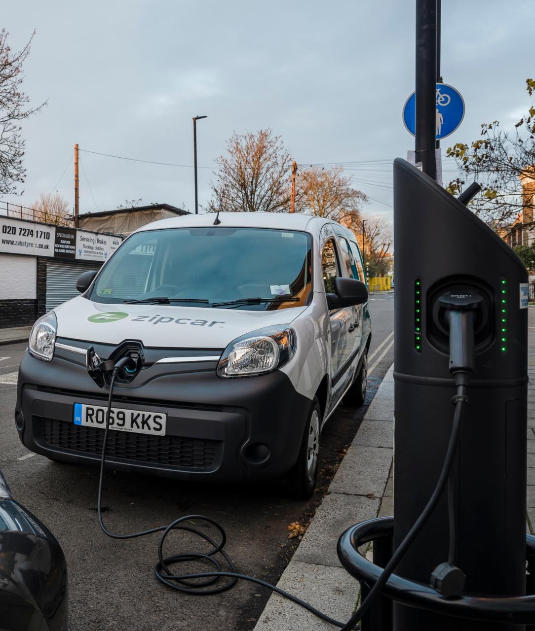 Zipcar electric van