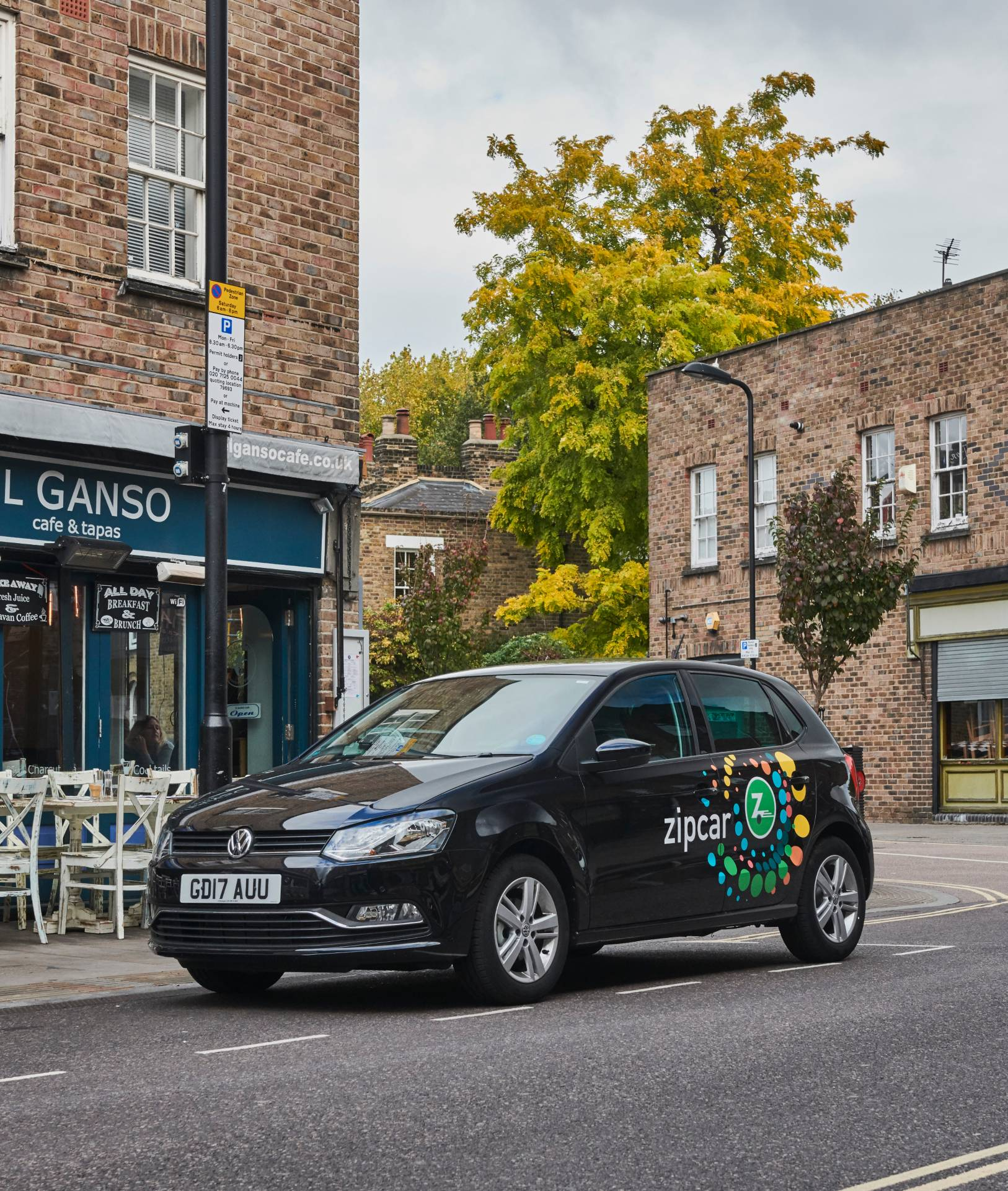 zipcar in hackney