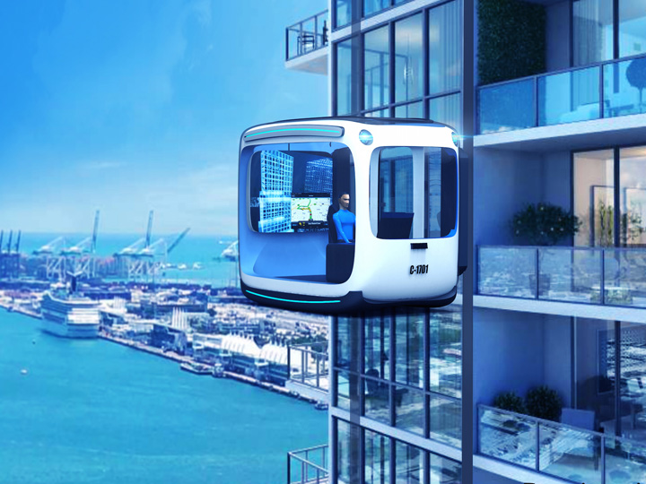Self Driving Apartment A Cutting Edge Urban That Also Detaches From Its Building And Drives Meet The Tridika Which Is All Of Our Favorite