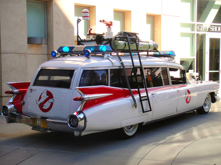 ghostbuster's car