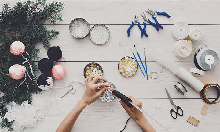 Don't let the pliers scare you—craft-making parties can be as simple or intricate as you'd like. The key is to provide guests with a range of fun materials to help them cut loose.