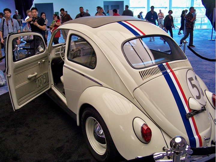 old model volkswagen bug