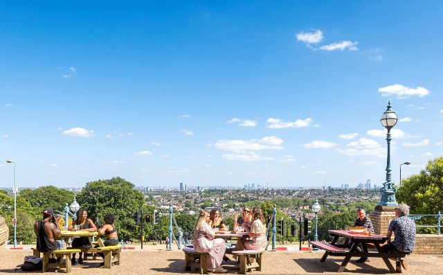 The Terrace at Alexandra Palace