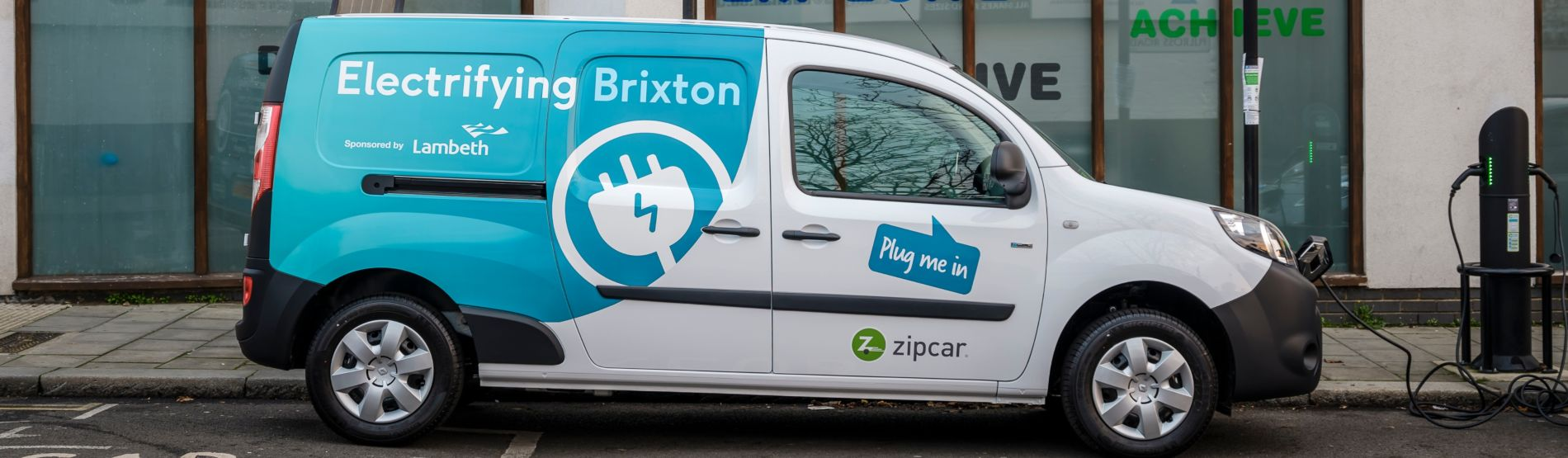 zipcar shared electric van
