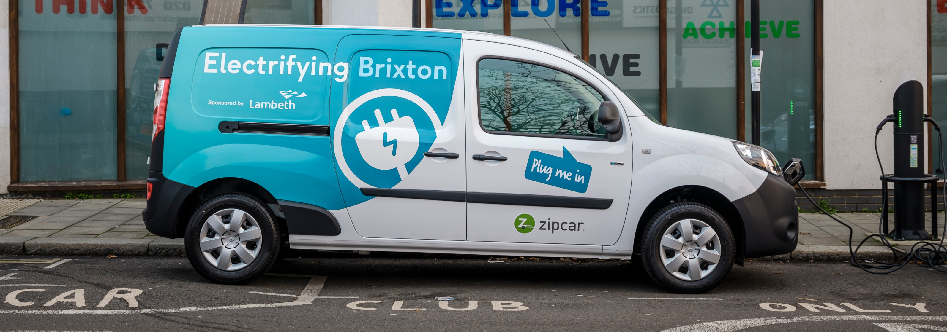 London's first shared E-Van