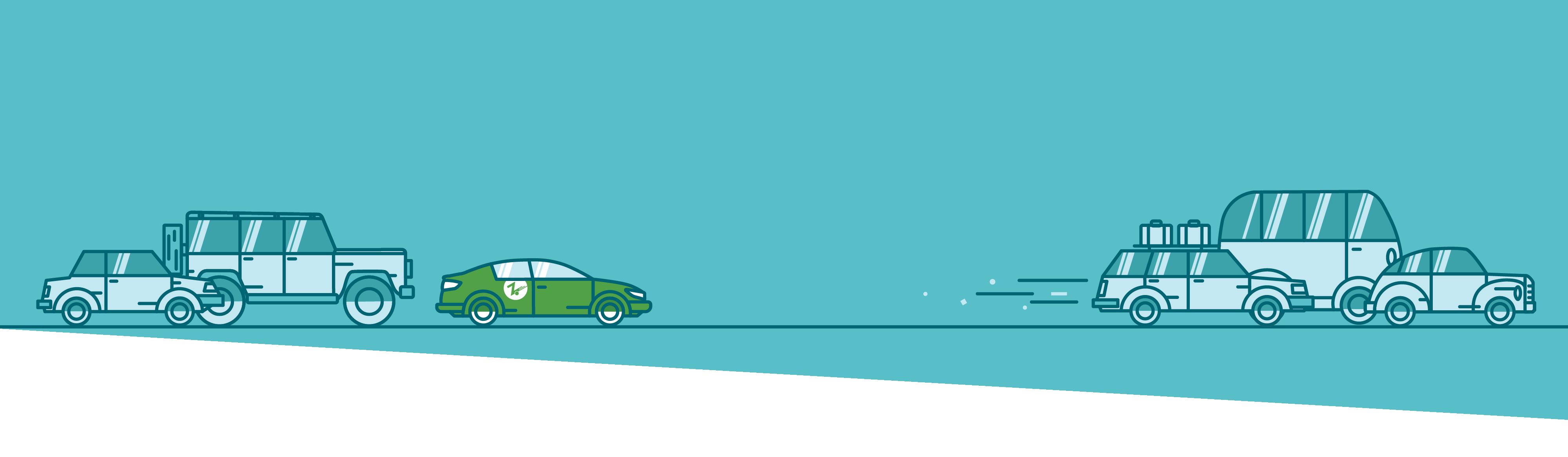 blue zipcar