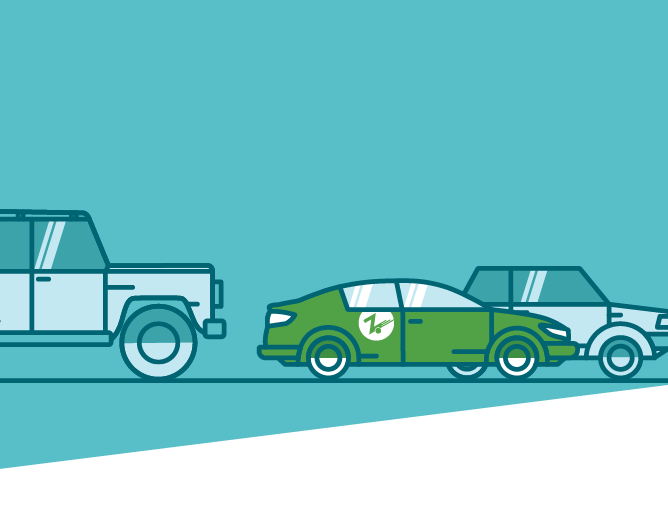 blue zipcar mobile