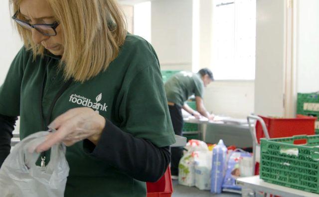 Redbridge Foodbank volunteer