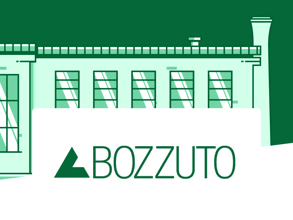 Building with Bozzuto logo