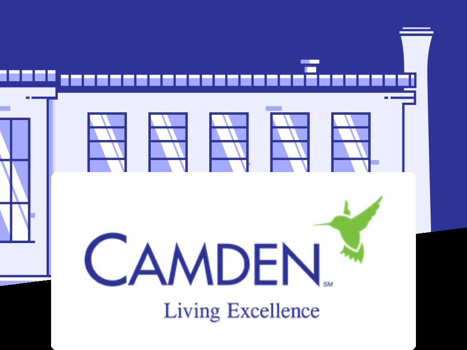 Building and Camden logo