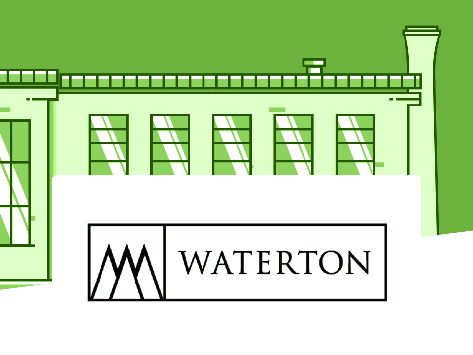 Building and Waterton logo