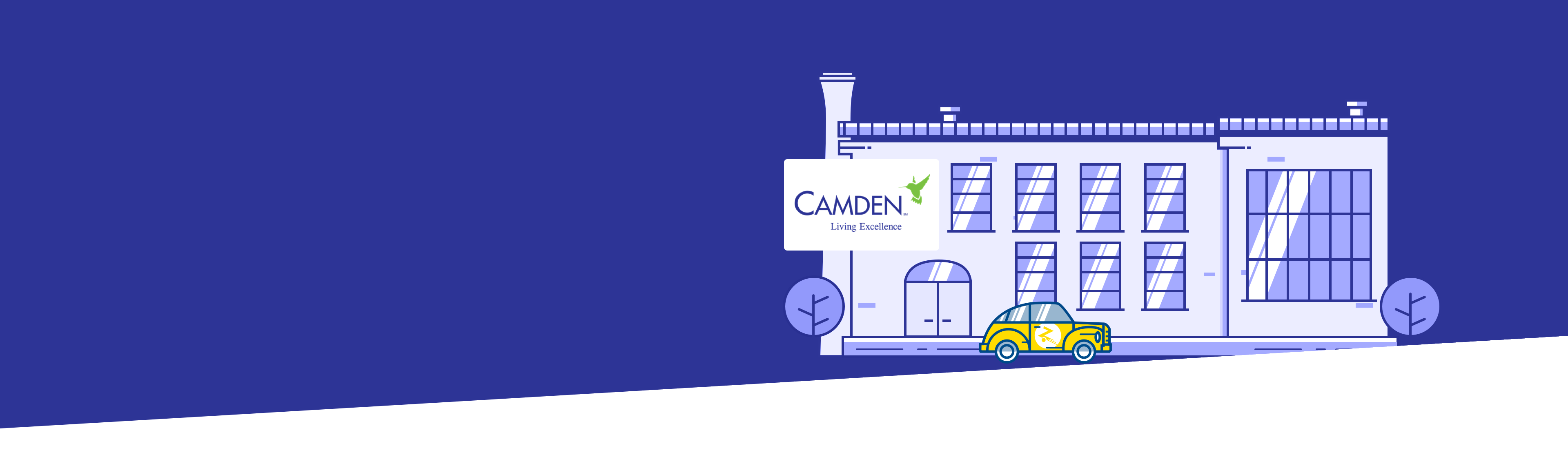 Building and Camden logo