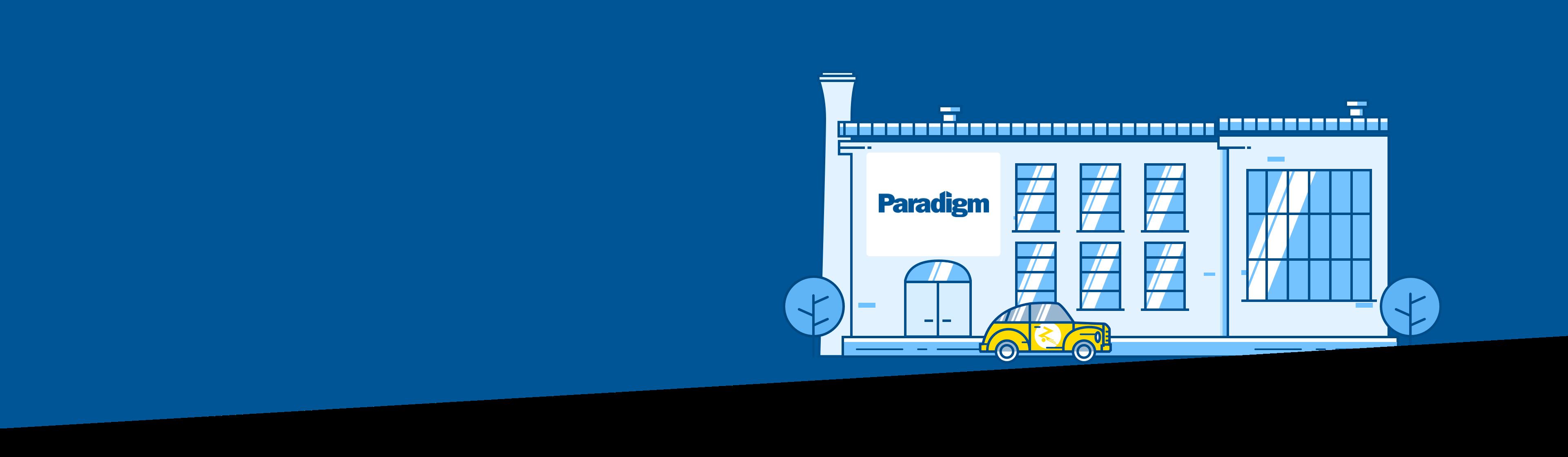 paradigm landing page photo