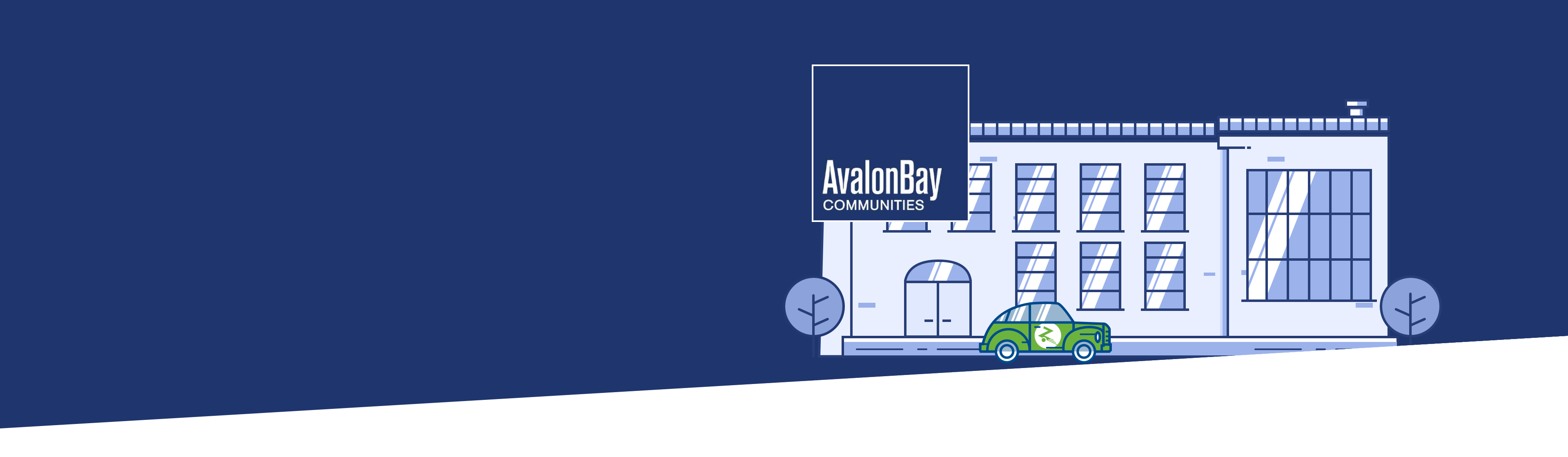 Building and Avalon Bay logo