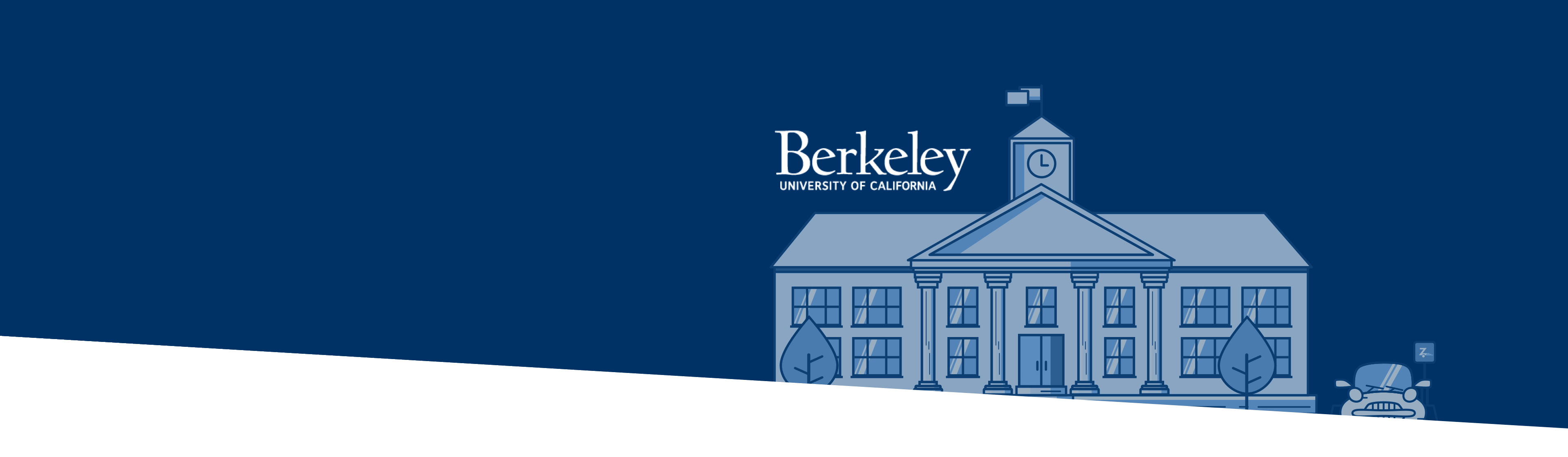 UC Berkeley buildings and logo