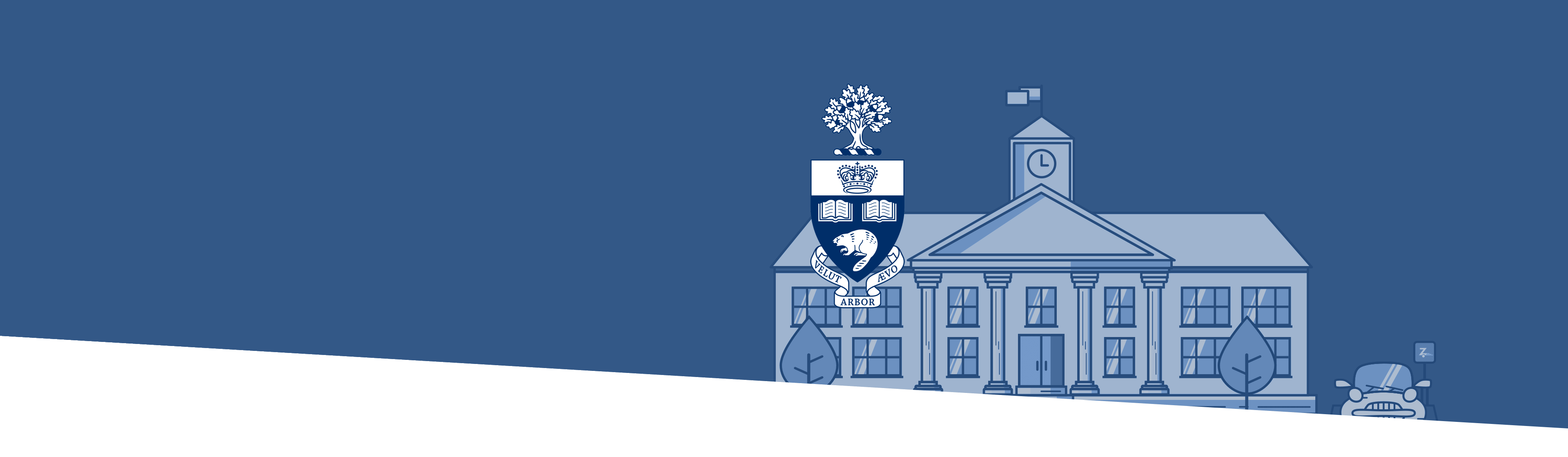 University of Toronto building and logo