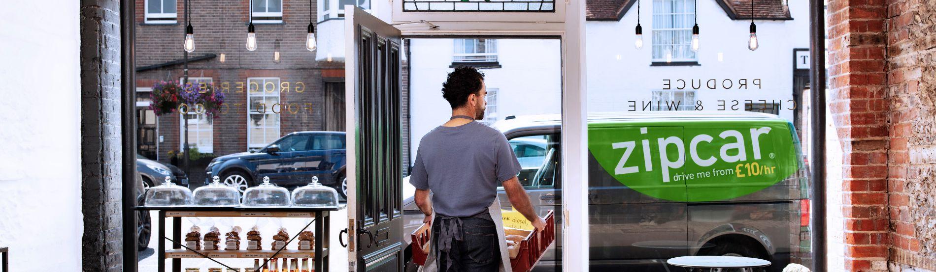 Zipcar for business van