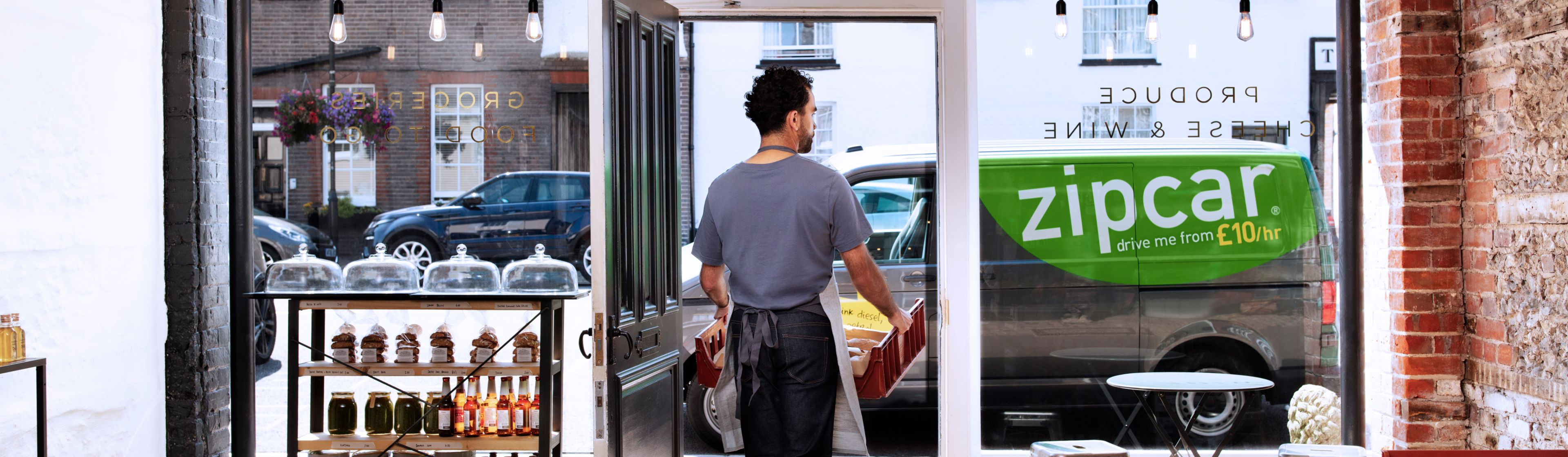 zipcar for business delivery