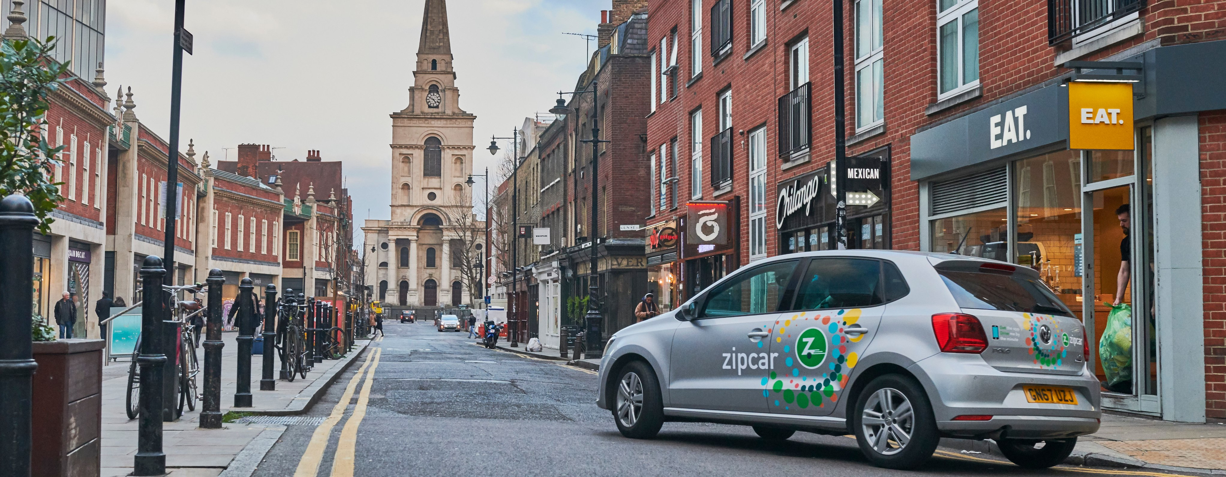 Driving with Zipcar