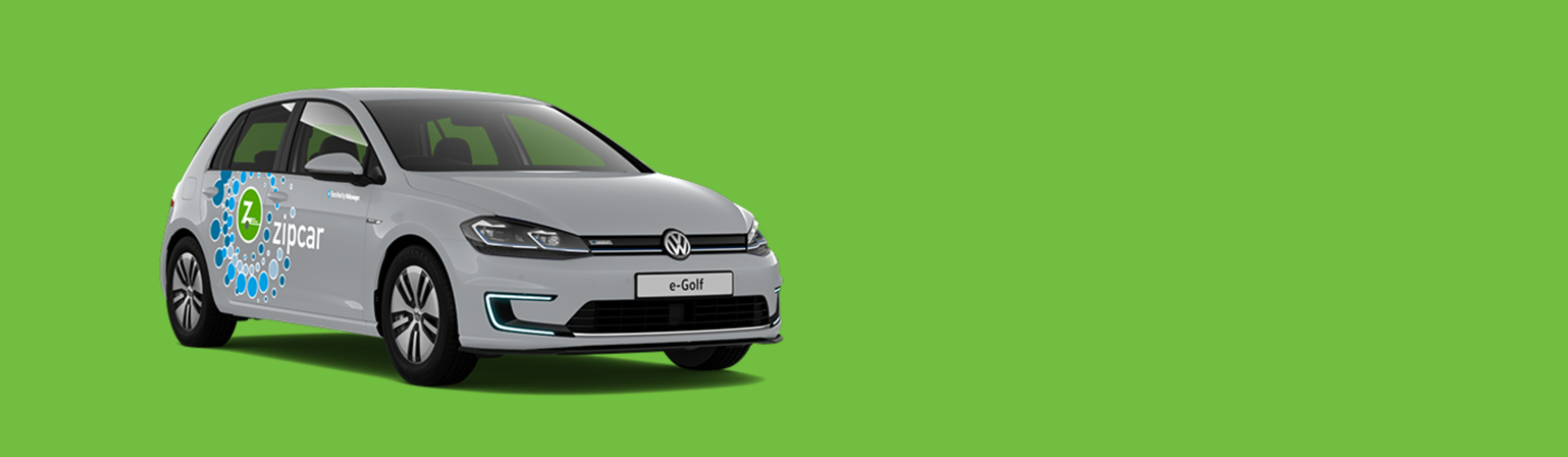 zipcar vw egolf