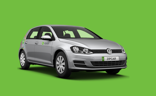zipcar vw golf