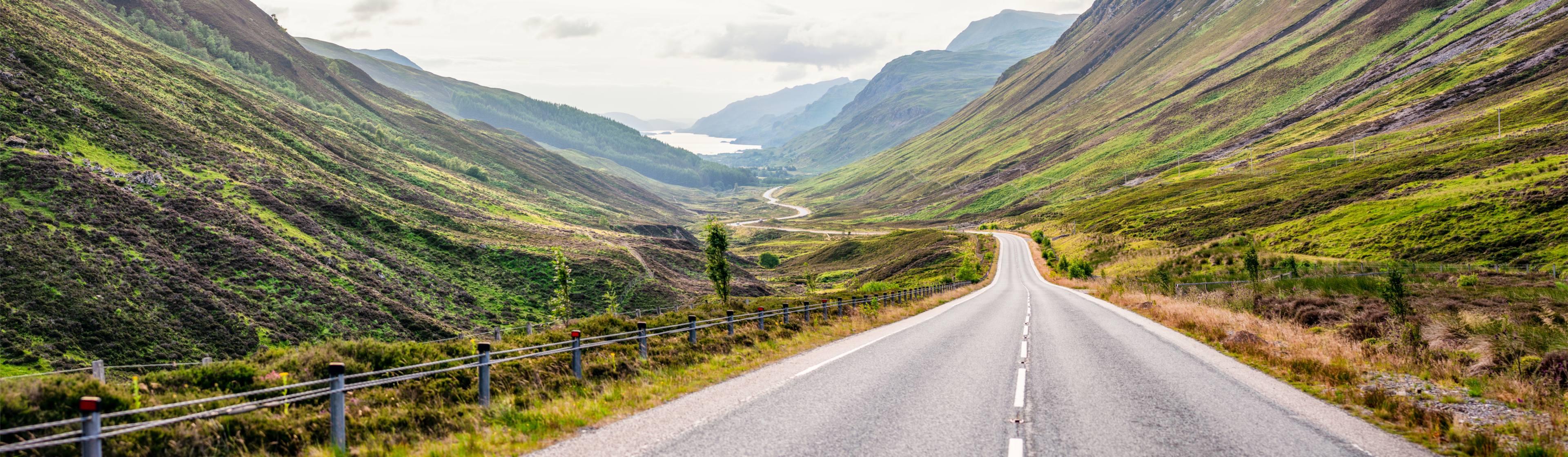 road trip roads