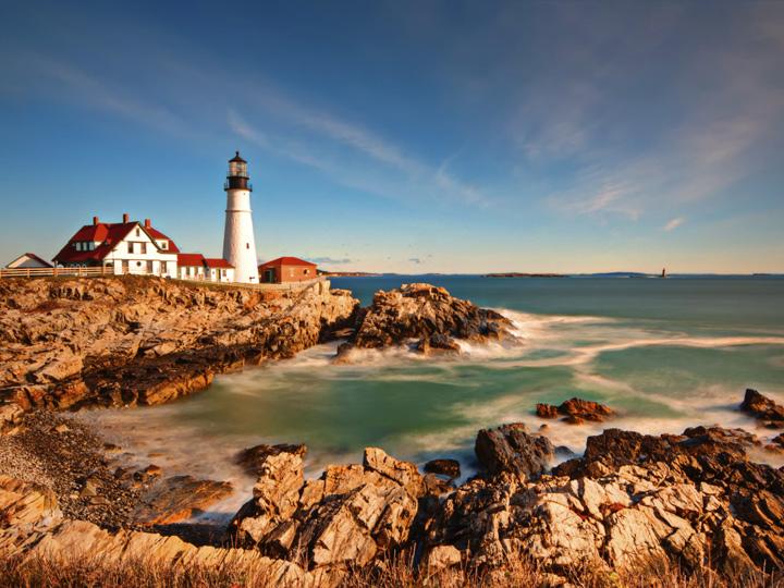Portland Maine ocean view