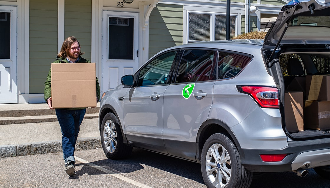zipcar moving out boxes