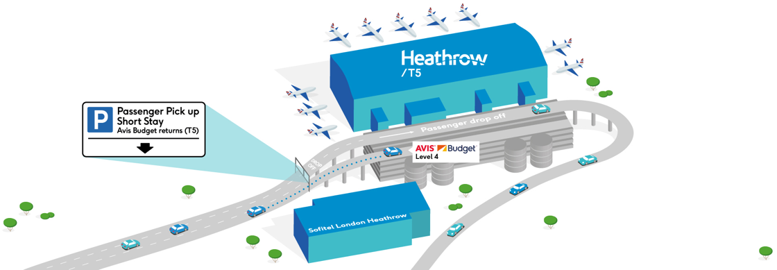 external airport map