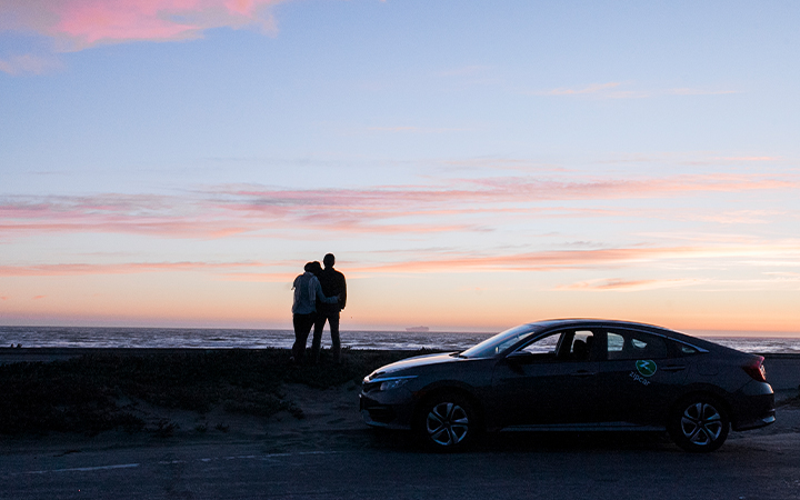 sunset zipcar