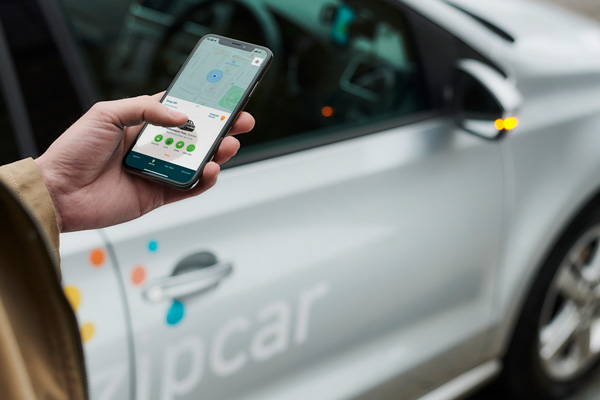 Unlocking your Zipcar