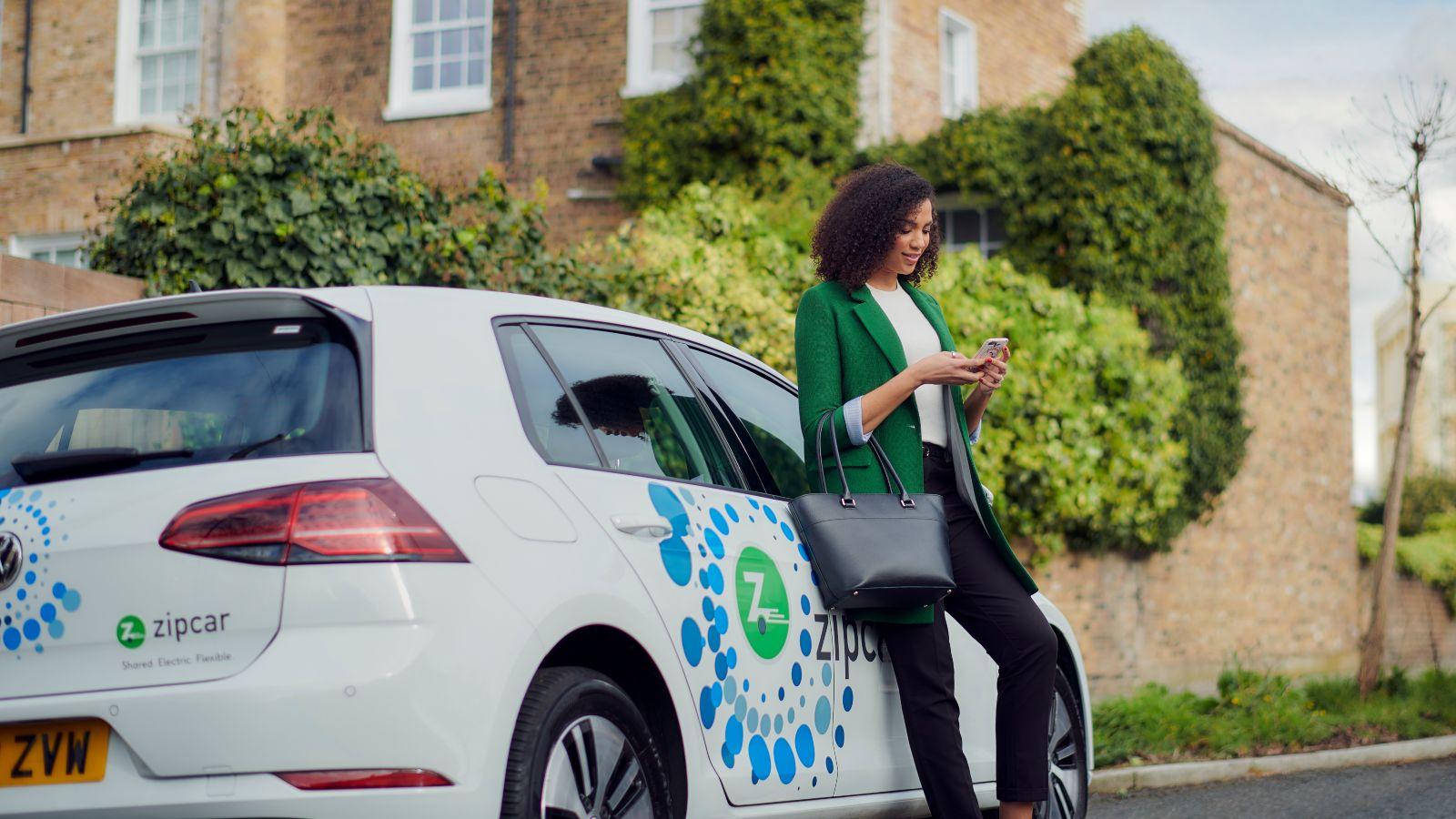 renting an electrc car