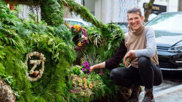 Zipcar living car with the garden designer