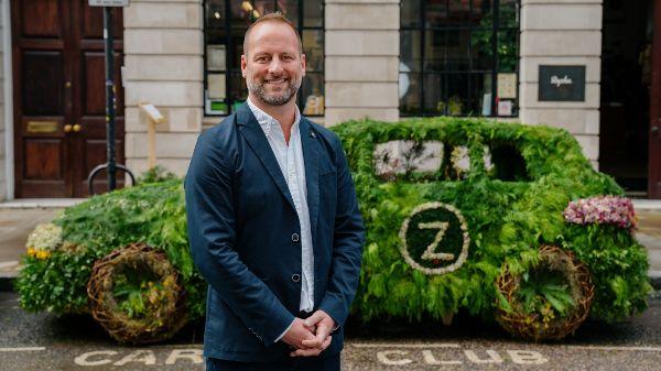 James Taylor, General Manager at Zipcar UK by the Zipcar living car
