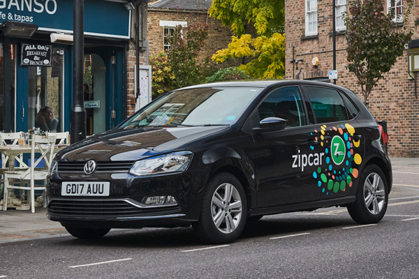 Zipcar Roundtrip in London