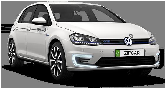 Zipcar VW e-Golf