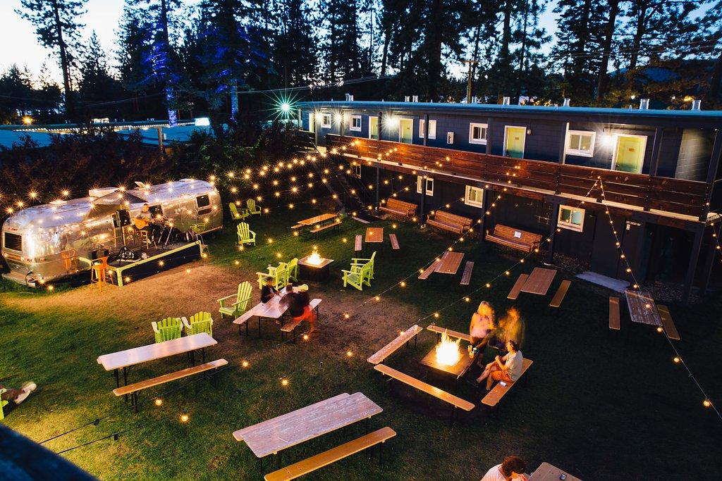 basecamp hotels scene