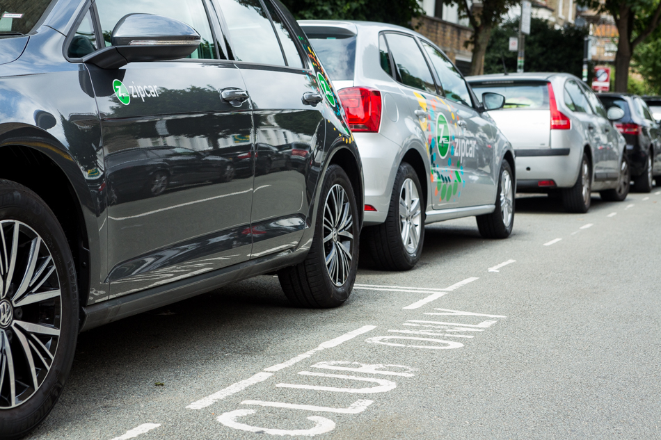 Zipcar for Business cars