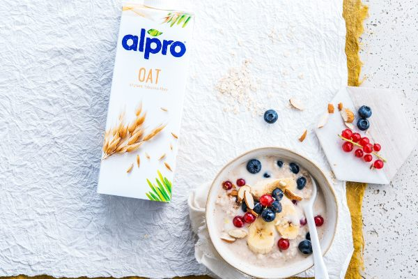Alpro breakfast