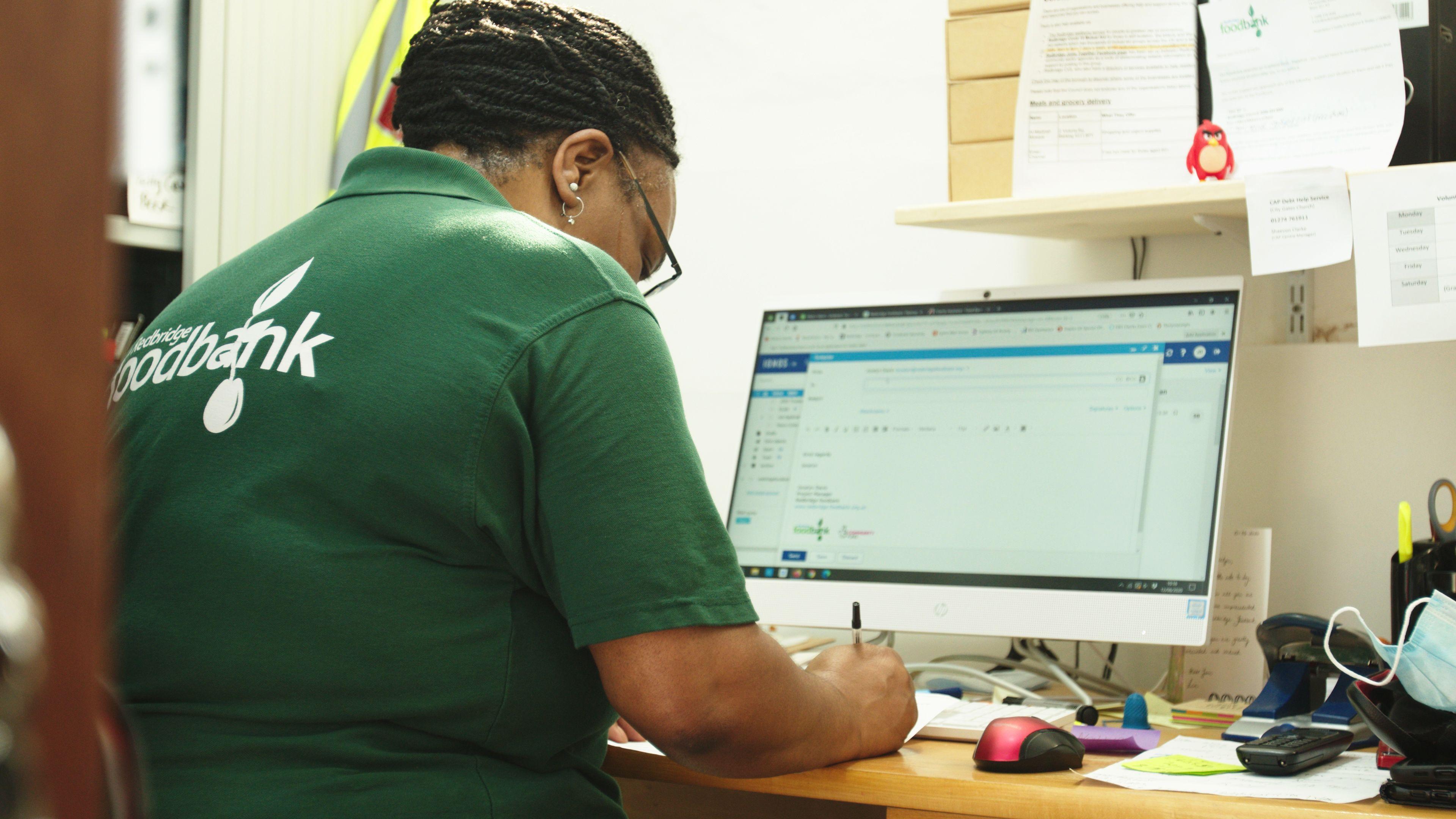 Redbridge Foodbank Employee