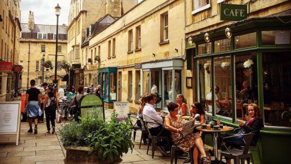 Green Bird Café, Bath