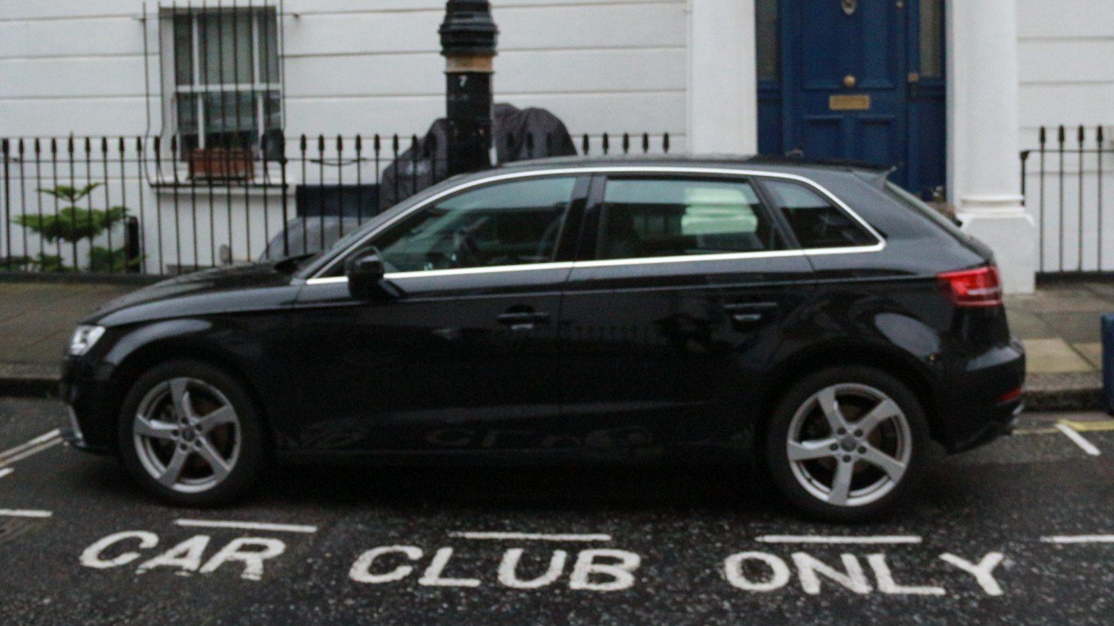 car sharing bay