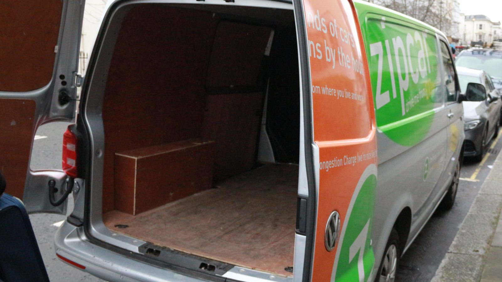zipvan boot space