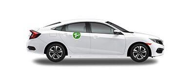white zipcar